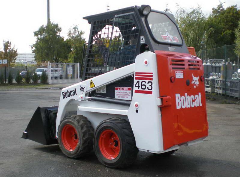 Miniincarcator bobcat 463 import germania