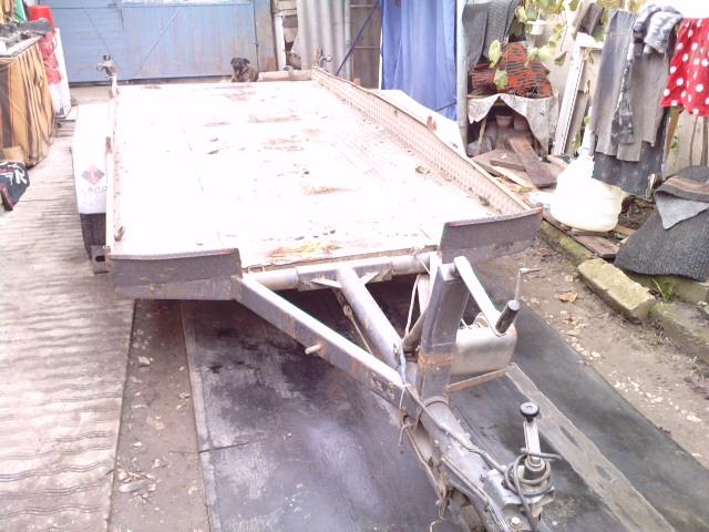 Platforma auto remorca de vanzare