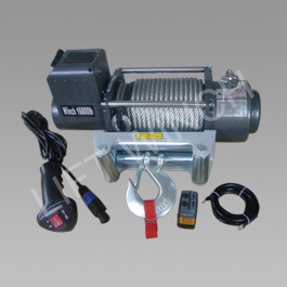 Lift winch sec16800 wireless (7620 kg) - troliu electric 12v