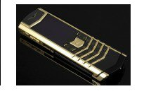 Replica vertu signature s  gold