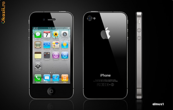 Iphone 4g 16g neverlock ca noi 450euro!