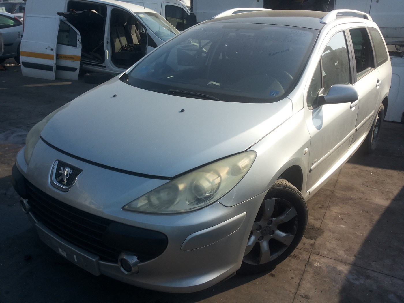 Peugeot 307 sw an 2006 motor 1.6hdi tip 9hx