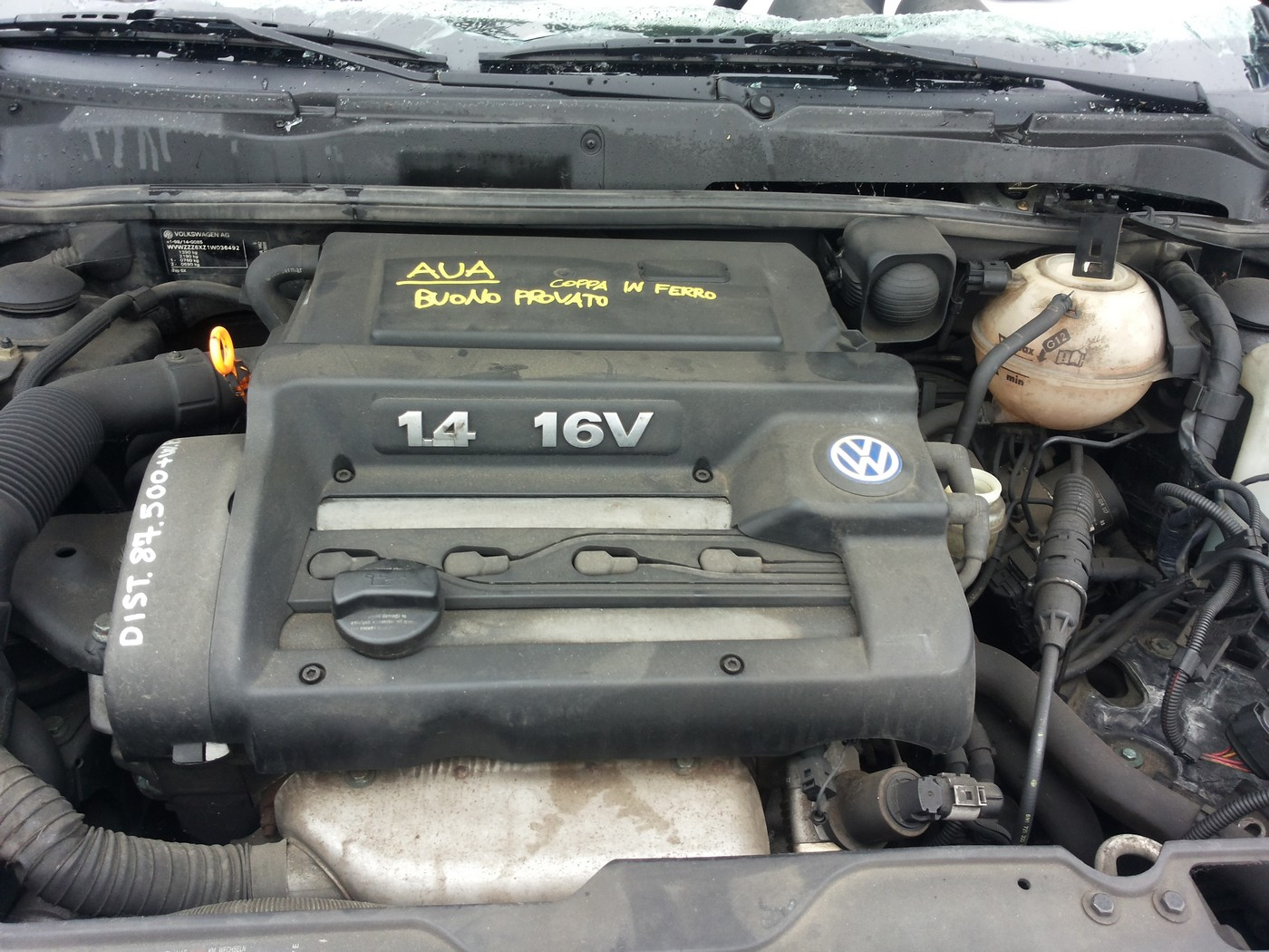 Volkswagen lupo an 2001 motor 1.4 16v tip aua