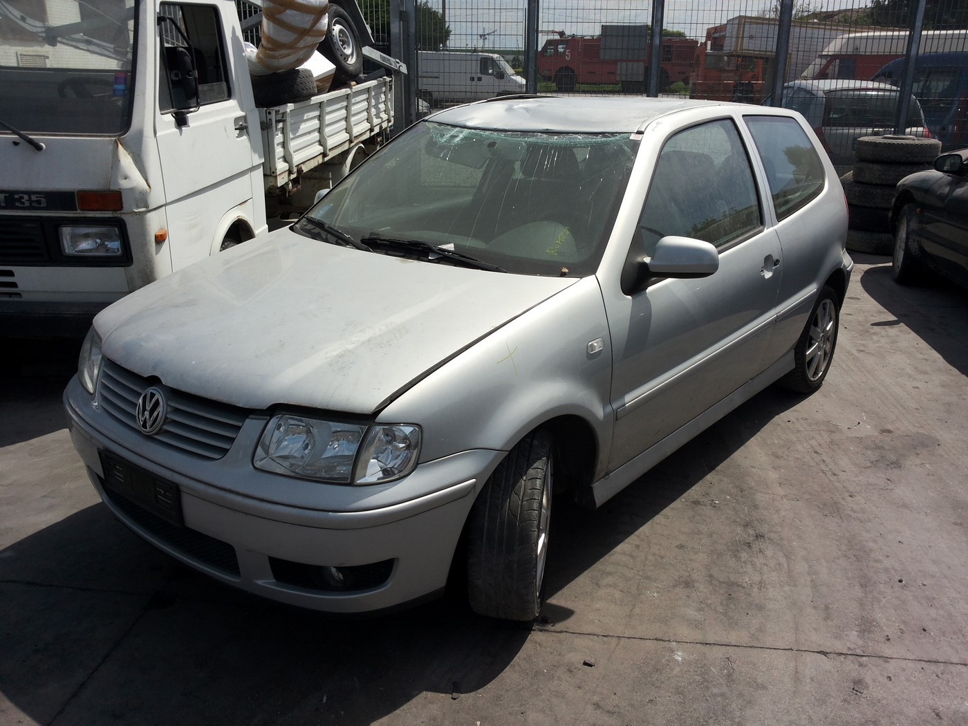Volkswagen polo 6n2 3usi 1.4 16v ahw an fab.2000