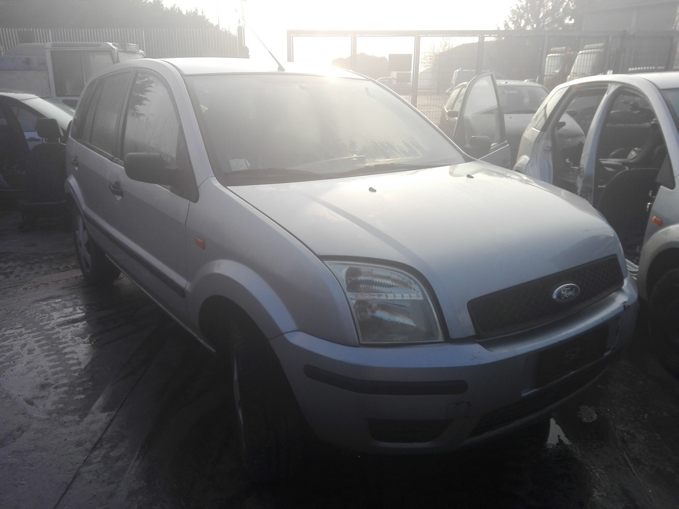 Ford fusion 1.4tdci tip motor f6ja an 2004
