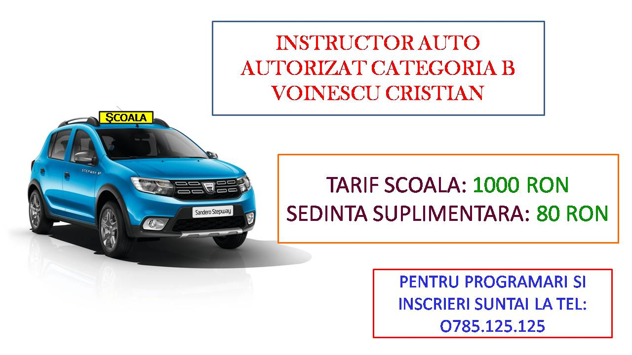 Instructor auto  sector 6