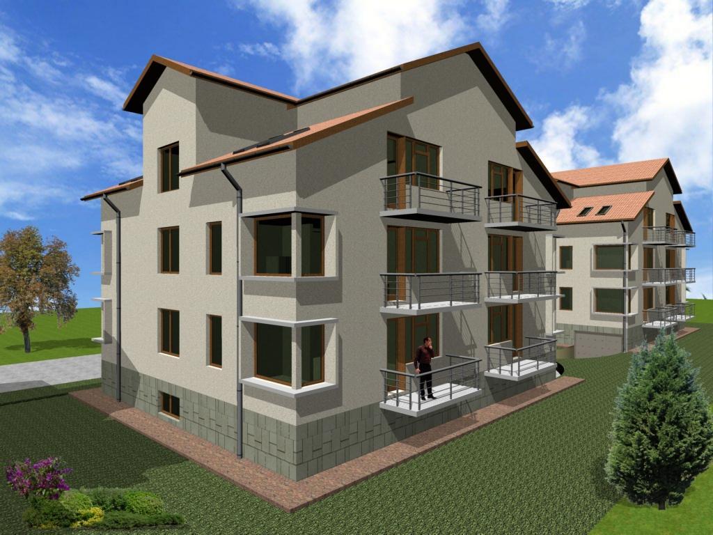 Apartamente 3 si 4 camere in ansamblul rezidential
