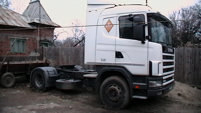 Vand cap tractor scania 530cp si camion 3.5t basculant
