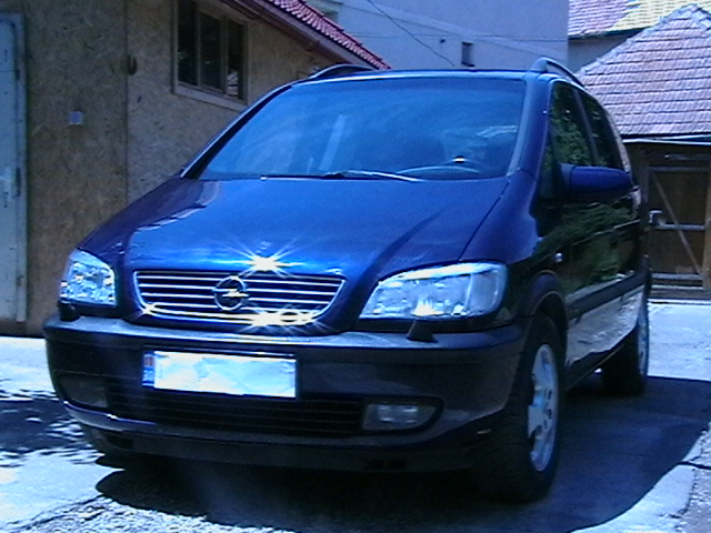 zafira selection diesel
