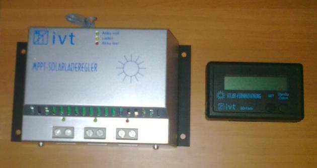 Incarcator solar inteligent mppt